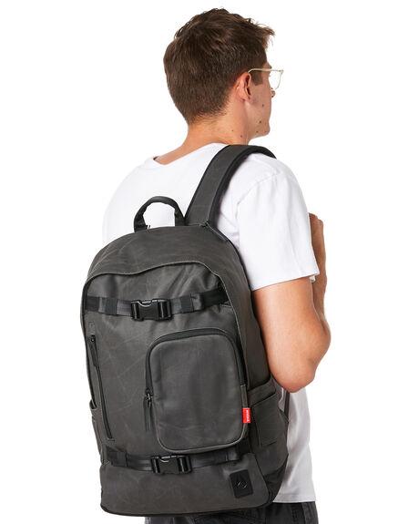 BLACK MENS ACCESSORIES NIXON BAGS + BACKPACKS - C2955-000-00BLK