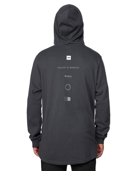 BLACK MENS CLOTHING RVCA JUMPERS - RV-R107154-BLK