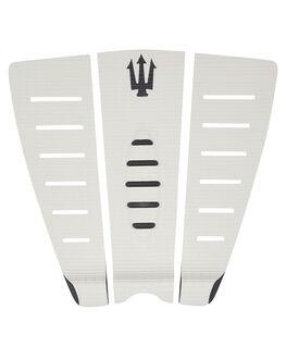 CREAM BLACK BOARDSPORTS SURF FAR KING TAILPADS - 1206CRMBK