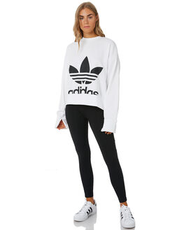 WHITE WOMENS CLOTHING ADIDAS ACTIVEWEAR - EC5777WHT