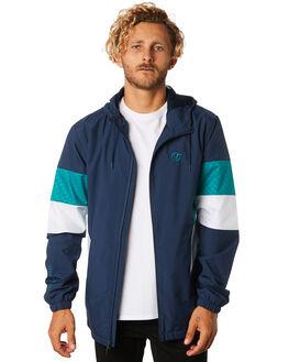 DRESS BLUES MENS CLOTHING VANS JACKETS - VNA3W2ALKZDRBLU