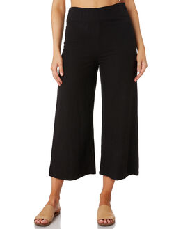 BLACK WOMENS CLOTHING RHYTHM PANTS - OCT19W-PA03-BLK