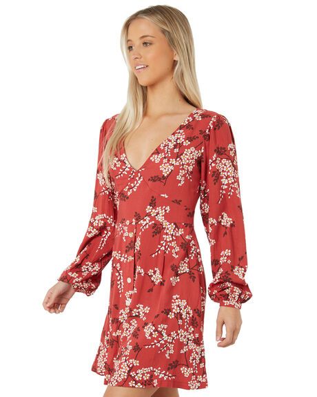 ROUGE OUTLET WOMENS THE HIDDEN WAY DRESSES - H8183449RED