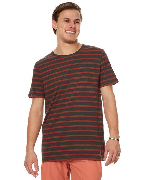 BRICK MENS CLOTHING GLOBE TEES - GB01211007BRK