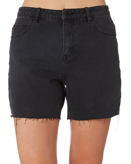 1b60be4f45 Silent Theory Crushed Short - Washed Black | SurfStitch
