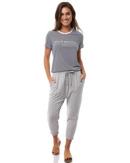 GREY MARLE WOMENS CLOTHING ELWOOD PANTS - WEC601GRY