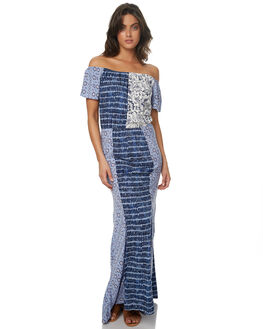 PATCHWORK WOMENS CLOTHING TIGERLILY DRESSES - T372403PAT