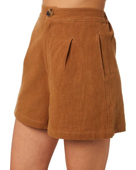 BRONZE WOMENS CLOTHING THRILLS SHORTS - WTR9-351CBRNZ