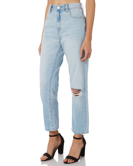 STRANGERS WOMENS CLOTHING A.BRAND JEANS - 71169STR