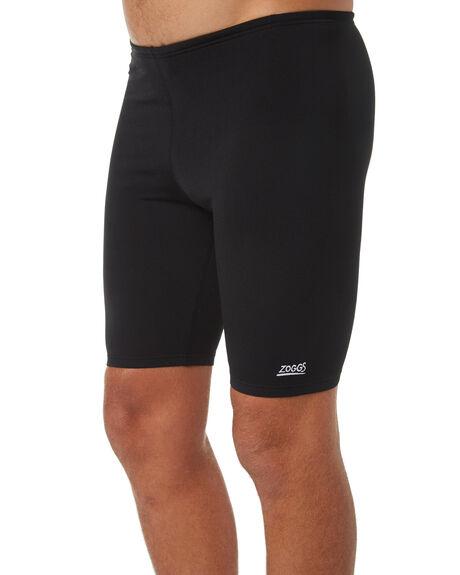 BLACK MENS CLOTHING ZOGGS SWIMWEAR - 274080BLK