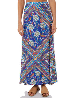 BLUE WOMENS CLOTHING ARNHEM SKIRTS - ARSKBL04BLU