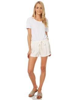 NATURAL WOMENS CLOTHING BILLABONG SHORTS - 6571274NAT