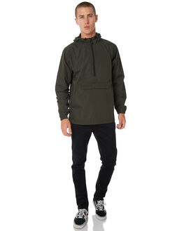 OLIVE MENS CLOTHING DEPACTUS JACKETS - D5184384OLIVE