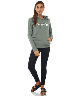 CLAY GREEN WOMENS CLOTHING HURLEY JUMPERS - AGFL17034T