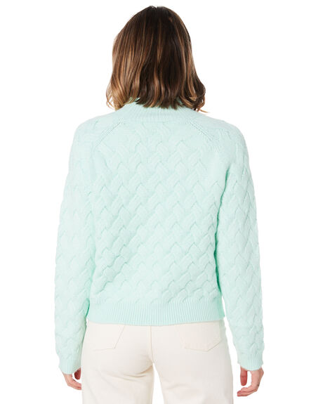 PISTACHIO WOMENS CLOTHING THE EAST ORDER KNITS + CARDIGANS - E47015-KPIST