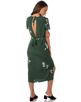 MUSTANG GREEN WOMENS CLOTHING RUE STIIC DRESSES - SA19-12-BMG