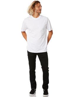 DRY EVER BLACK MENS CLOTHING NUDIE JEANS CO JEANS - 113033DEBLK
