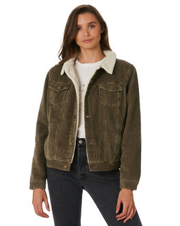 FOREST WOMENS CLOTHING THRILLS JACKETS - WTW9-211FFOR