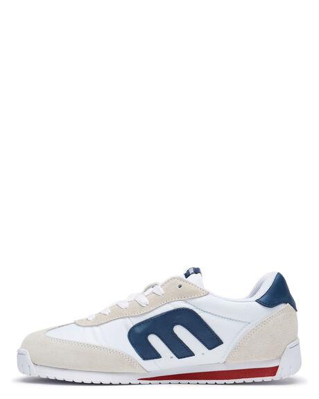 WHITE NAVY MENS FOOTWEAR ETNIES SNEAKERS - 4101000521145