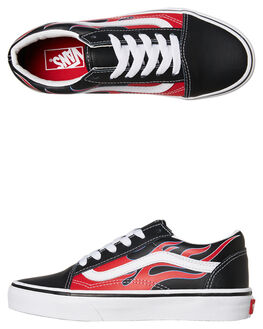 FLAMES KIDS BOYS VANS SNEAKERS - VNA38HBVISFLMS