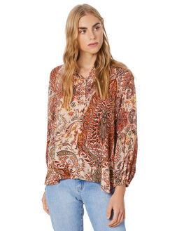 PAISLEY WOMENS CLOTHING LILYA FASHION TOPS - RVT2015-PAISL