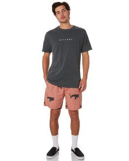 MERCH BLACK MENS CLOTHING THRILLS TEES - TS9-101MBMCBLK