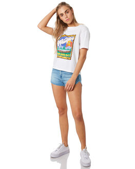 WHITE WOMENS CLOTHING WRANGLER TEES - W-951505-060