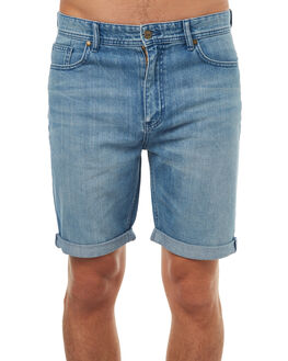 OPTIMISM BLUE MENS CLOTHING LEE SHORTS - L-606142-CQ5OPTBL