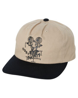 KHAKI MULTI MENS ACCESSORIES OBEY HEADWEAR - 100570100KHA