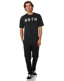 TRUE BLACK MENS CLOTHING BURTON TEES - 20375102001