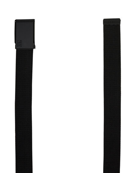 BLACK MENS ACCESSORIES BILLABONG BELTS - 9685655ABLK