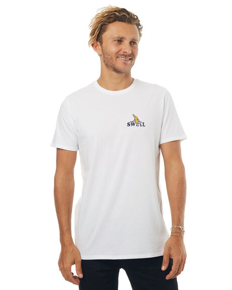 WHITE MENS CLOTHING SWELL TEES - S5171003WHT