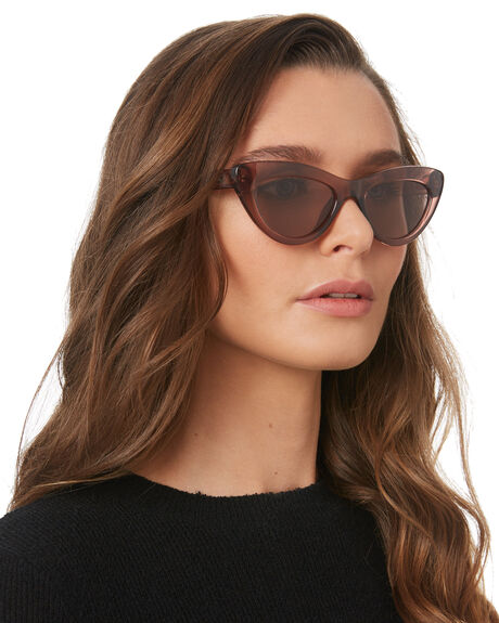 POLISHED PLUM WOMENS ACCESSORIES LOCAL SUPPLY SUNGLASSES - MARINAPMP20