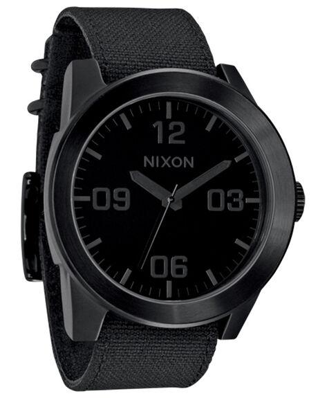 ALL BLACK MENS ACCESSORIES NIXON WATCHES - A243001ALB