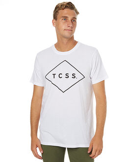WHITE MENS CLOTHING THE CRITICAL SLIDE SOCIETY TEES - AST1701WHT