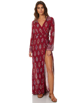 CARMINE WOMENS CLOTHING TIGERLILY DRESSES - T371406CAR