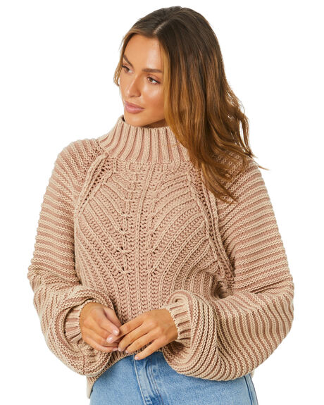 SANDCASTLE WOMENS CLOTHING FREE PEOPLE KNITS + CARDIGANS - OB10878951020