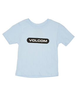 POWDER BLUE KIDS BOYS VOLCOM TOPS - Y3512001PDR