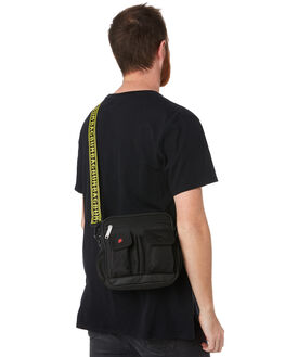BLACK MENS ACCESSORIES THE BUMBAG CO BAGS + BACKPACKS - UB001BLK