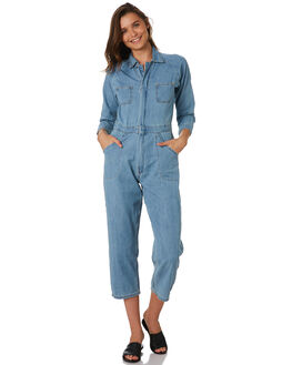 THRIFT BLUE OUTLET WOMENS THRILLS PLAYSUITS + OVERALLS - WTDP-912ETBLU