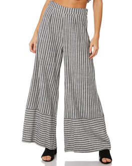 BLACK & WHITE WOMENS CLOTHING TIGERLILY PANTS - T391371BNW