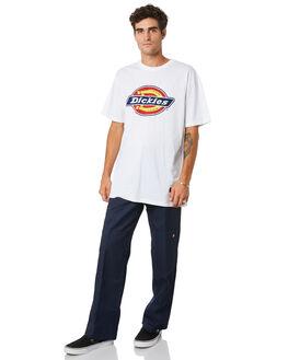 WHITE MENS CLOTHING DICKIES TEES - K1200101WH