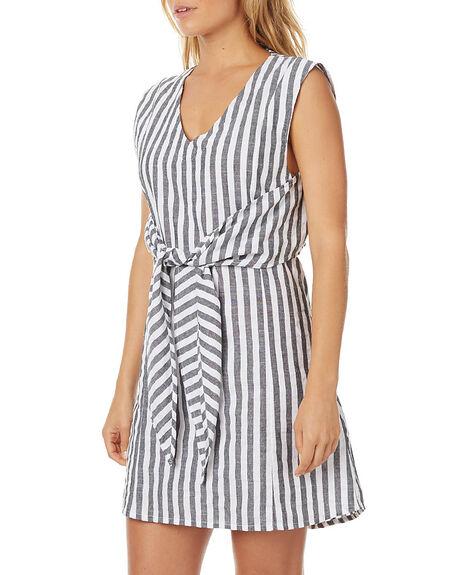 STRIPE WOMENS CLOTHING ZULU AND ZEPHYR DRESSES - ZZ1365STR