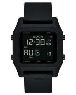 BLACK MENS ACCESSORIES NIXON WATCHES - A1282000-00
