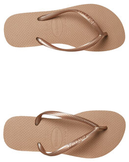 ROSE GOLD WOMENS FOOTWEAR HAVAIANAS THONGS - 40000303581