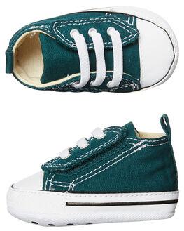 DARK ATOMIX TEAL KIDS BABY CONVERSE FOOTWEAR - 857436TEAL