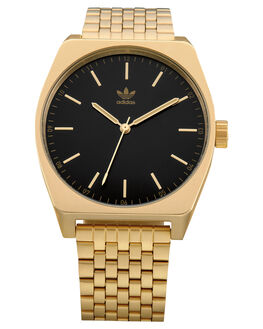 GOLD BLACK SUNRAY MENS ACCESSORIES ADIDAS WATCHES - Z02-1604