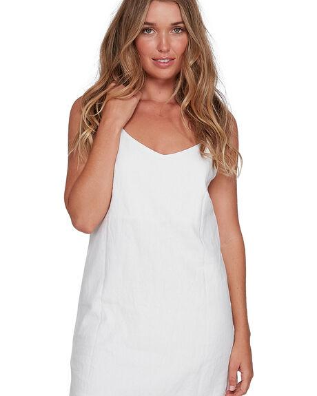 WHITE WOMENS CLOTHING BILLABONG DRESSES - BB-6572476AS-WHT