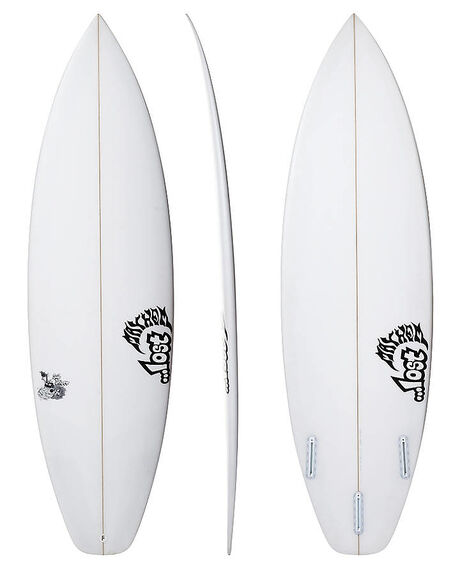 CLEAR BOARDSPORTS SURF LOST SURFBOARDS - LOSUBDRIVERCLR