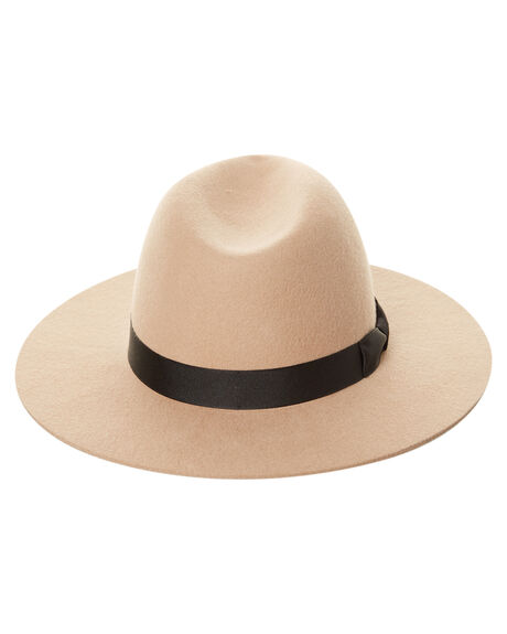 CAMEL BROWN WOMENS ACCESSORIES LACK OF COLOR HEADWEAR - MIR1CAM